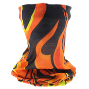 Flame Print Face Covering/ Gaiter/ Snood