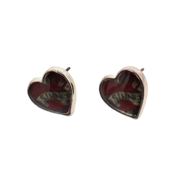 Heart Earrings (1 x 1cm)