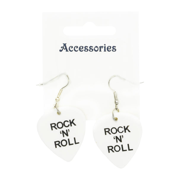 Rock 'N' Roll Guitar Pluck Earrings