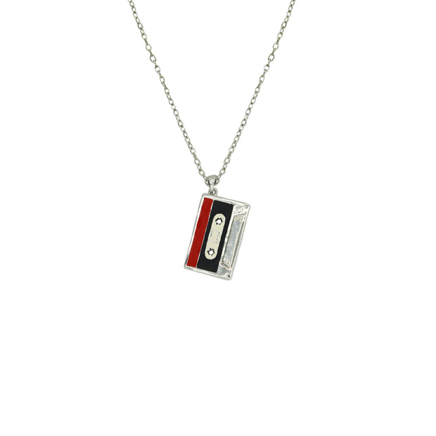 Double Sided Cassette Necklace