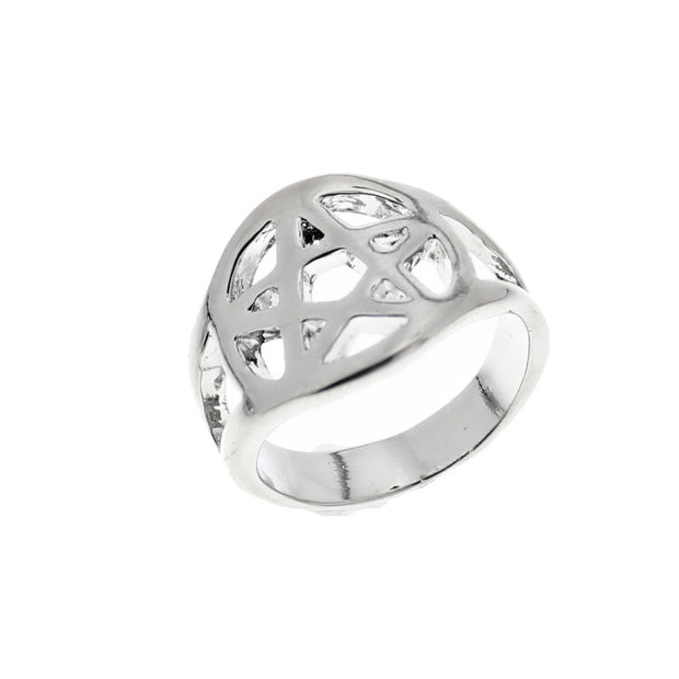 Hollow Pentagram Ring