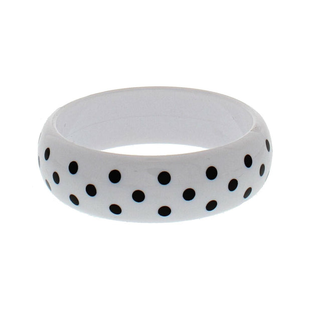 Bangle with Polka Dots