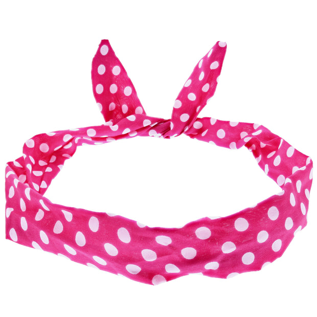 Polka Dot Wire Headband