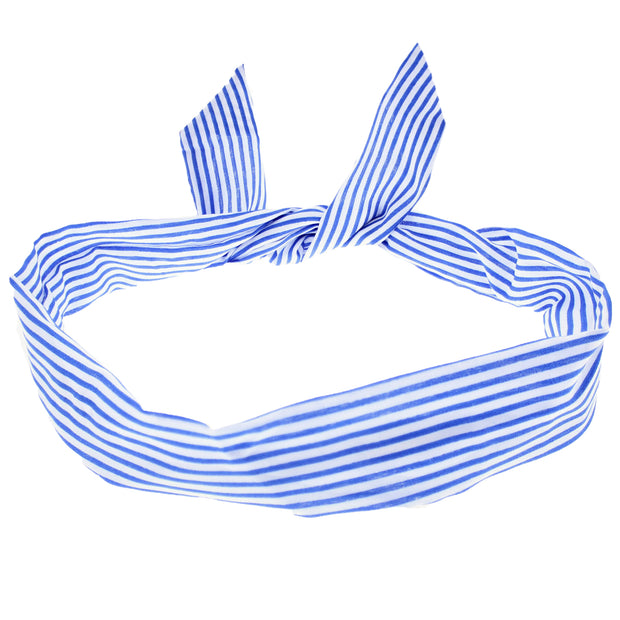 Narrow Stripe Wire Headband