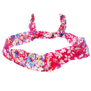 Floral Print Wire Headband
