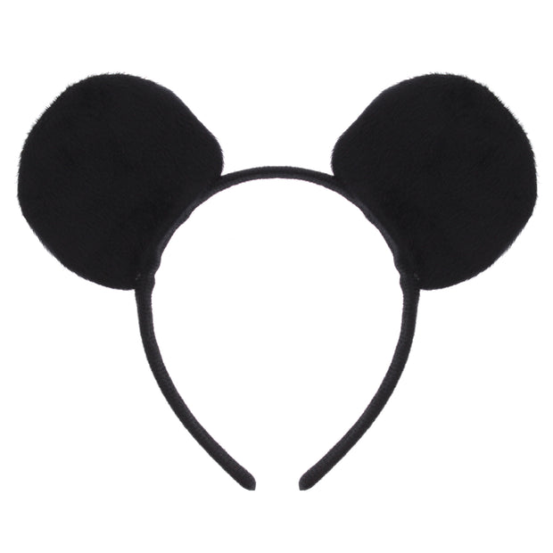 Black Mouse Ears on Headband