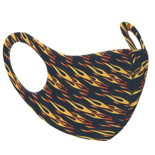 Flame Print Value Face Mask