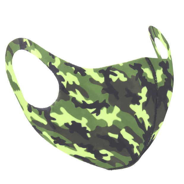 Camouflage Value Face Mask