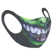 Green Monster Grin Value Face Mask