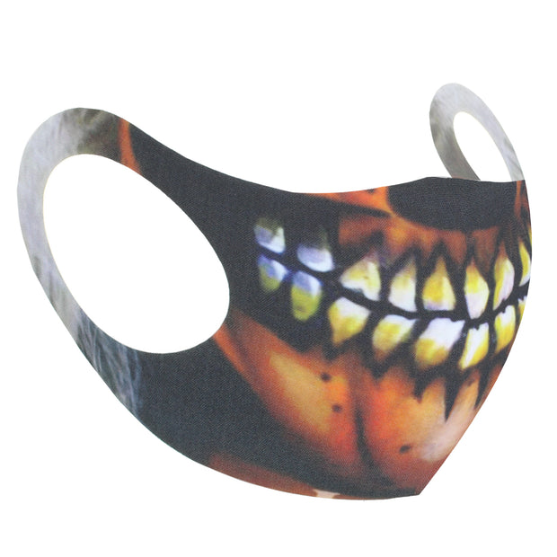 Scary Skull Grin Value Face Mask