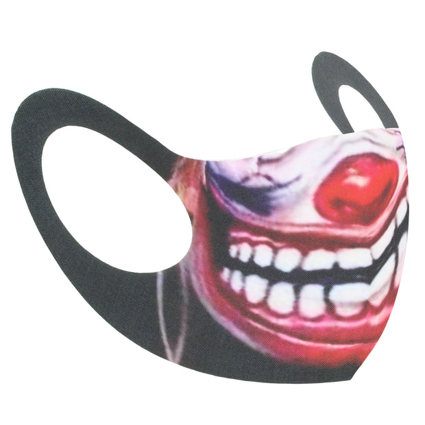 Evil Clown Grin Value Face Mask