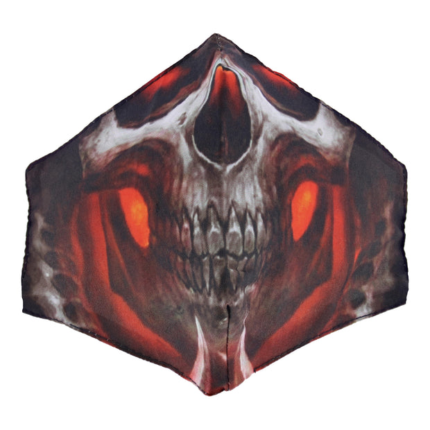 Evil Skull Cotton Face Mask