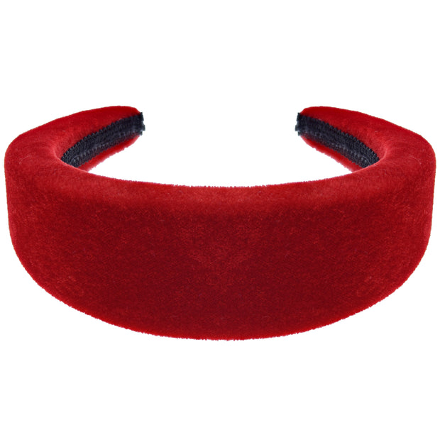 50mm Velvet Padded Aliceband