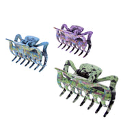 6cm Assorted Acid Wash Effect Clamps