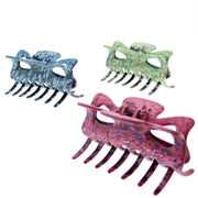 9cm Assorted Acid Wash Effect Clamps