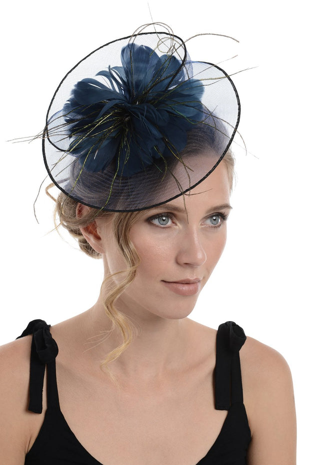 Fascinator on Concord Beak Clip or Aliceband