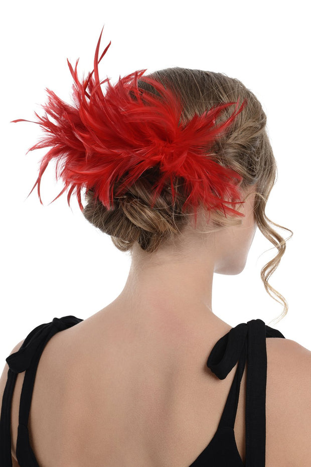 Alternative Fascinator On Comb (Diameter Approx. 24cm, Height Approx. 12cm)