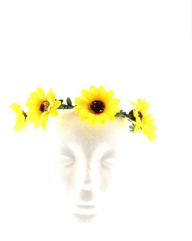 Sunflower Hair Garlands