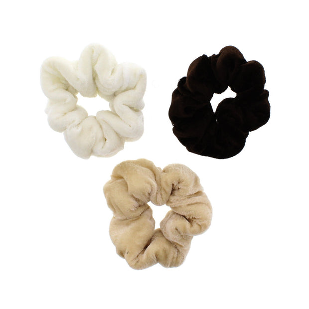 Luxury Velvet Donut Scrunchie