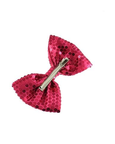 Sequin Bow on Concord Clip