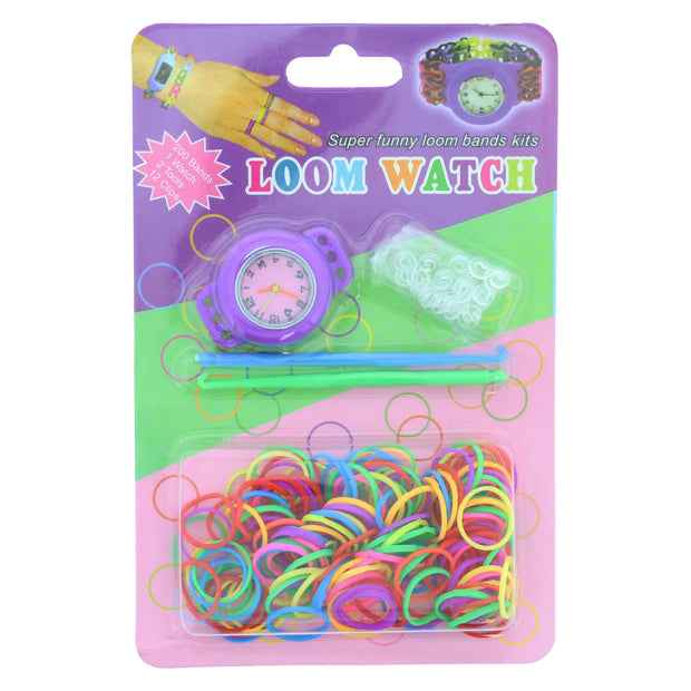 DIY Loom Watch Bracelet Kit - 2 Hooks Included