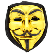 Halloween/ Anonymous/ Guy Fawkes Mask with Black Veil