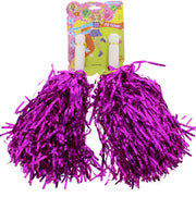 Tinsel Cheerleader Pom Poms