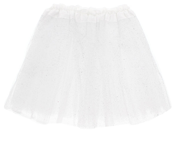 Glitter & Sequin Children's 3-Layer Tutu Skirt