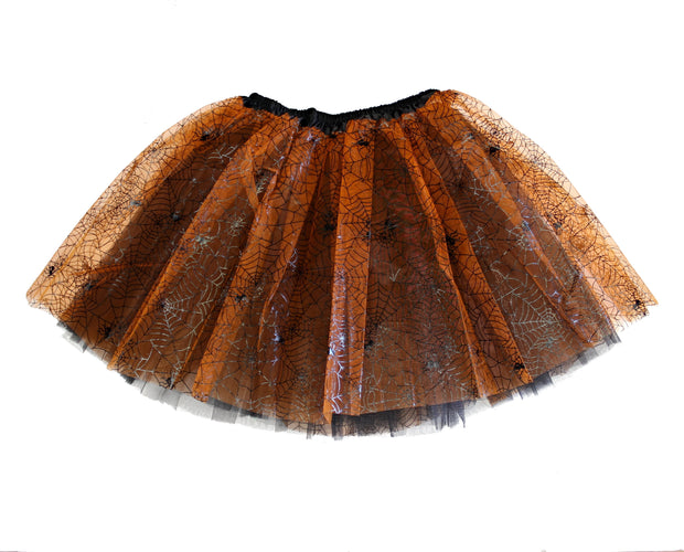 3-Layer Cobweb Design Tutu Skirt