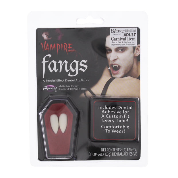 White Fake Fangs