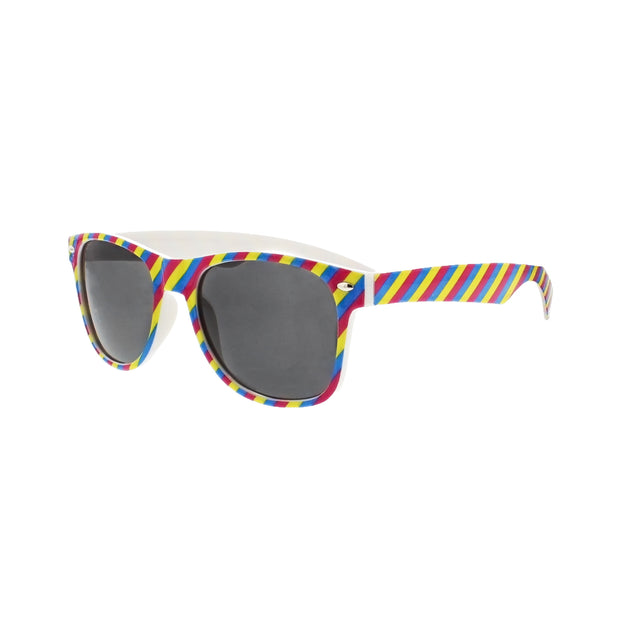Pansexual Coloured Striped Sunglasses