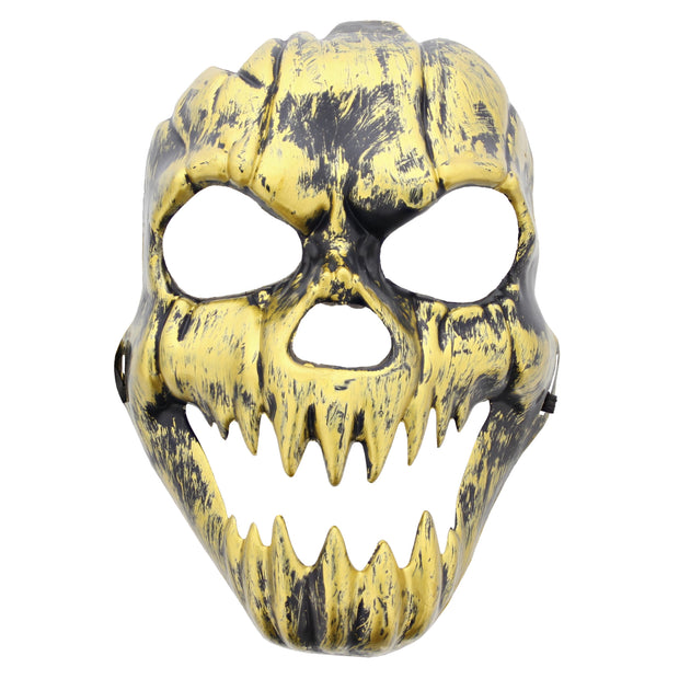 Burnished Gold Skull Mask