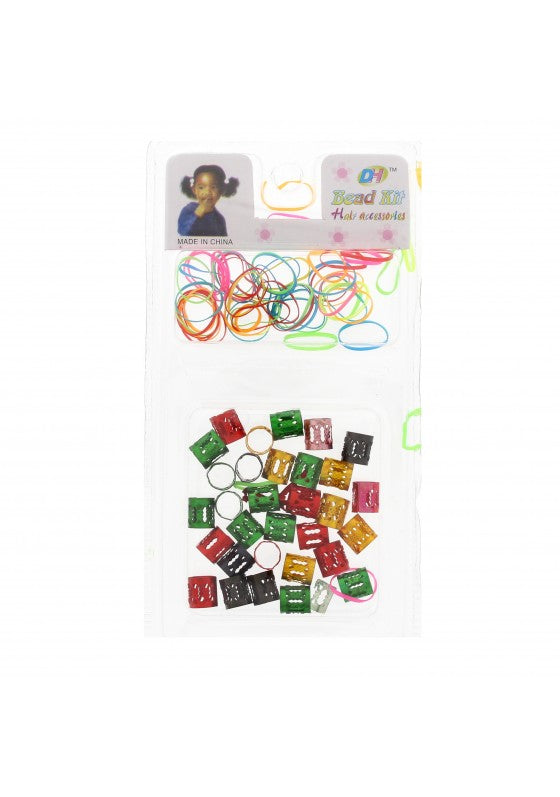 Poly Rubber Braiding Elastics & Hair Cuffs