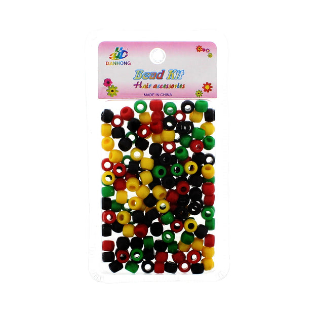 Pack of 150 Plastic Hair Beads (0.8mm Diameter)