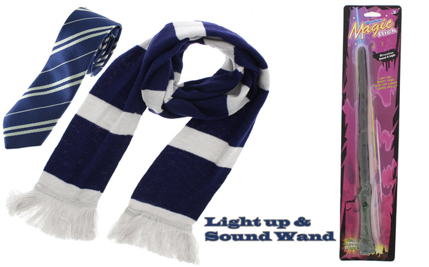 3 Piece World Book Day Set inc. Flashing Light & Sound Wand