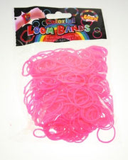 Coloured Loom Bands-300pcs approx