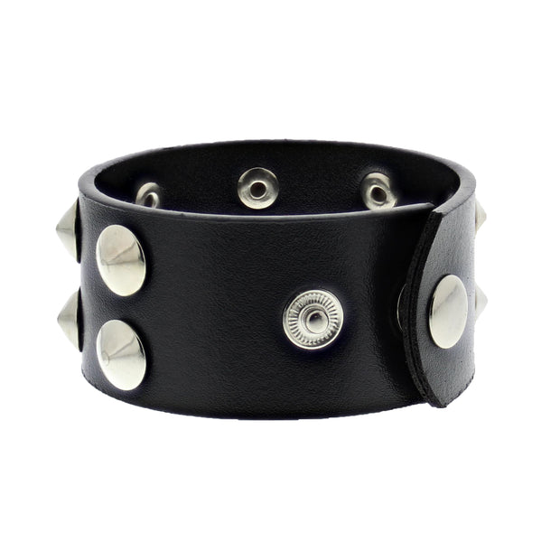 2 Row Conical Studded Bracelet