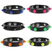 Assorted Colour Conical Studded Bracelets