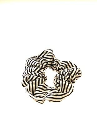 Narrow Stripe Scrunchie