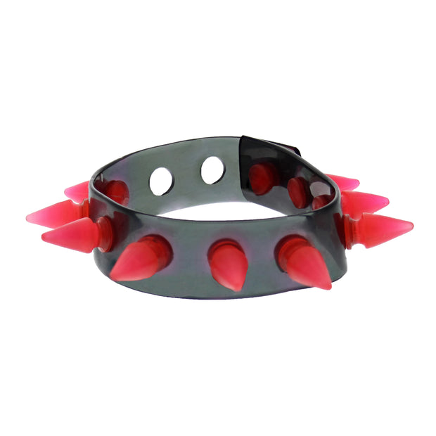 UV Bracelet / Wristband With Spikes