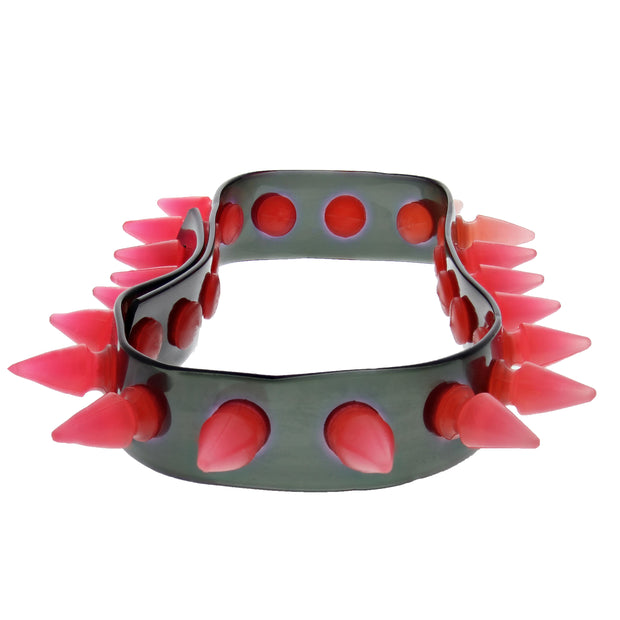 UV Necklace / Chocker With Spikes