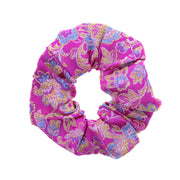 Chinese Floral Pattern Scrunchie