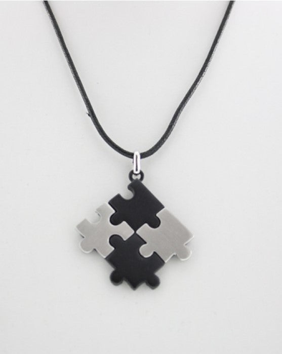 Jigsaw Thong Necklace