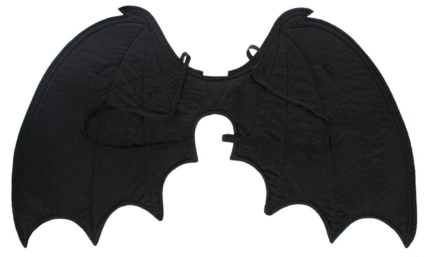 Black Bat Wings Aprox Size: 78 x 30cm