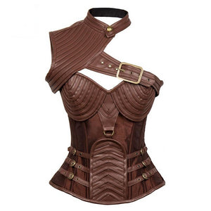 Regalia Leather Armour Corset Corset from Blood Moon Gothic