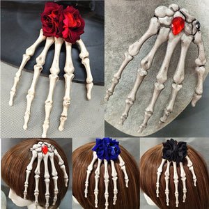 Handmade Skeleton Hair Accessory Hair Accessories from Blood Moon Gothic