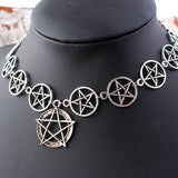Purely Pentagram Choker Choker from Blood Moon Gothic