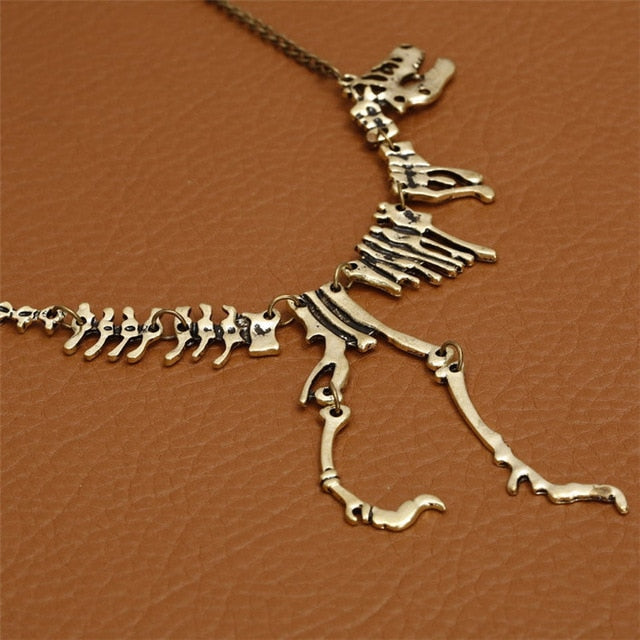T-Rex Skeleton Necklace Necklace from Blood Moon Gothic