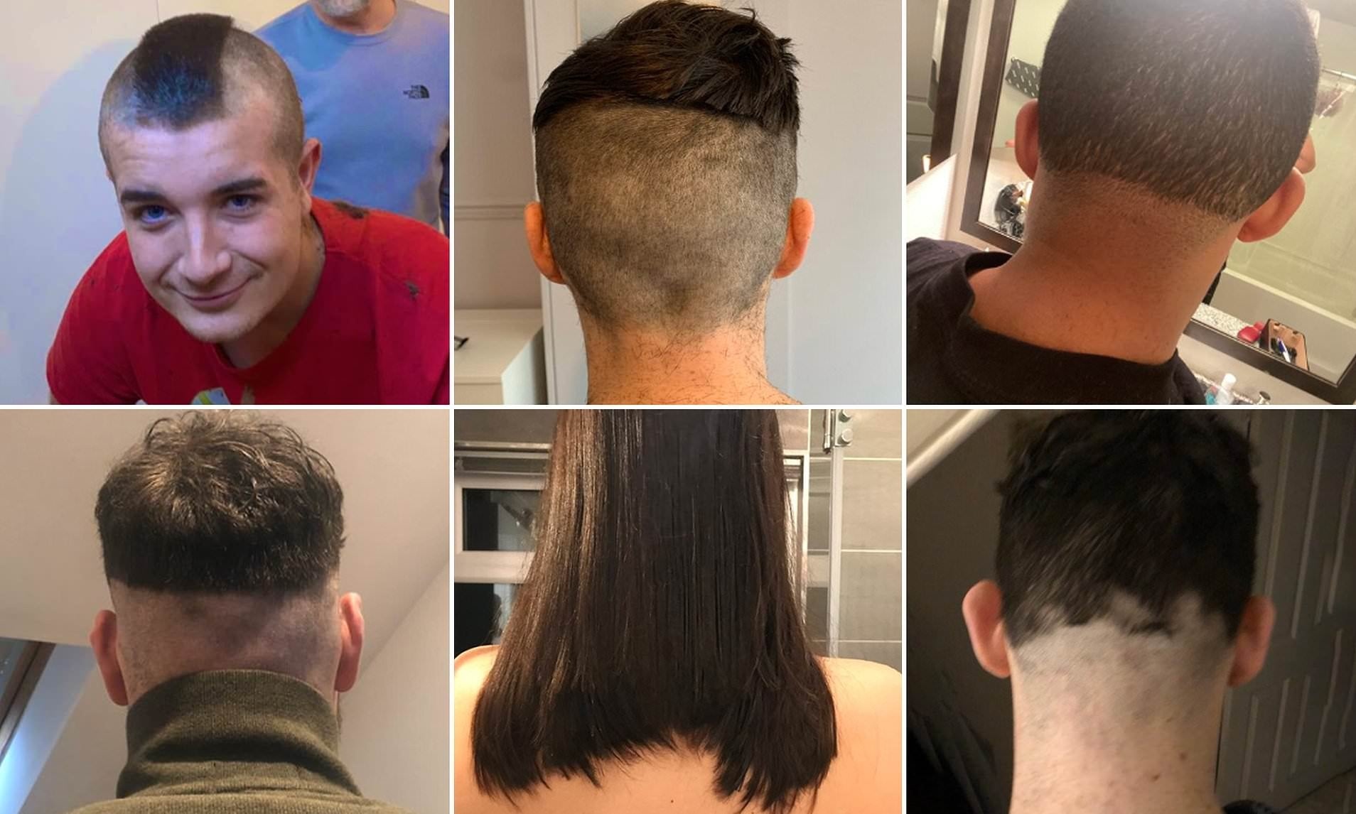 Bored Girlfriends Are Giving Their Boyfriends The Worst Haircuts In Isolation