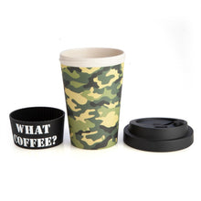 Load image into Gallery viewer, Camo EcoGo Bamboo Cup